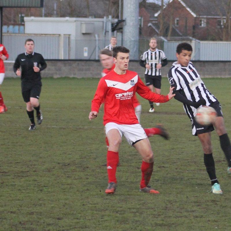 Brigg Town 2-0 Westella & Willerby (14/1/17)