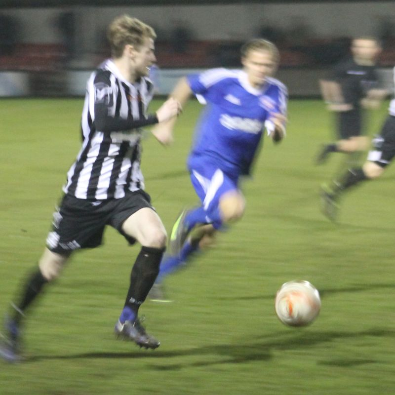 Winterton edge close derby encounter