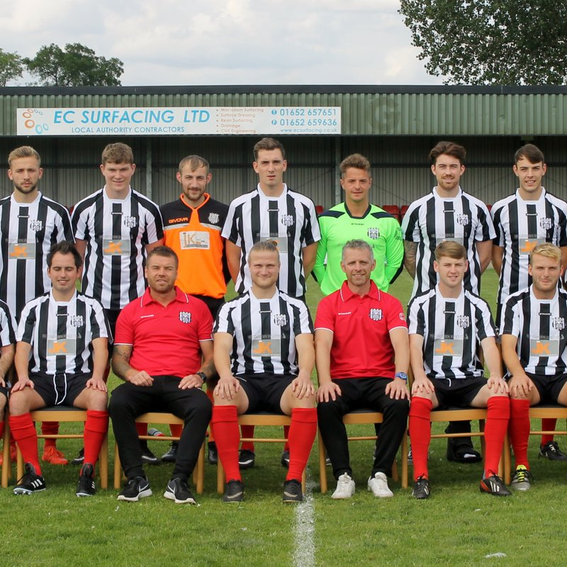First Team lose to Grimsby Borough 0 - 3