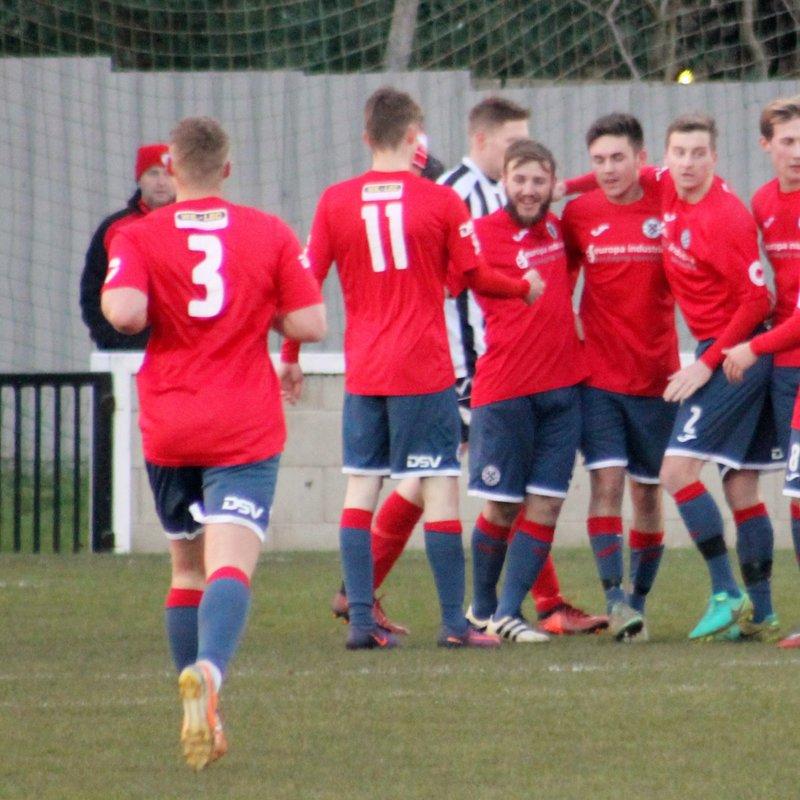 Borough win derby despite poor conditions