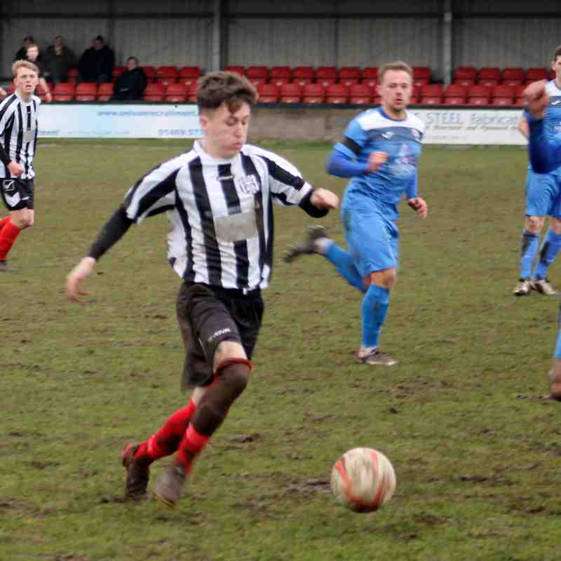 Brigg Town 2-2 Rossington Main (10/2/18)