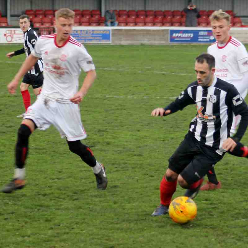 Brigg Town 3-2 Lincoln United Development Squad (AET) (27/10/18)