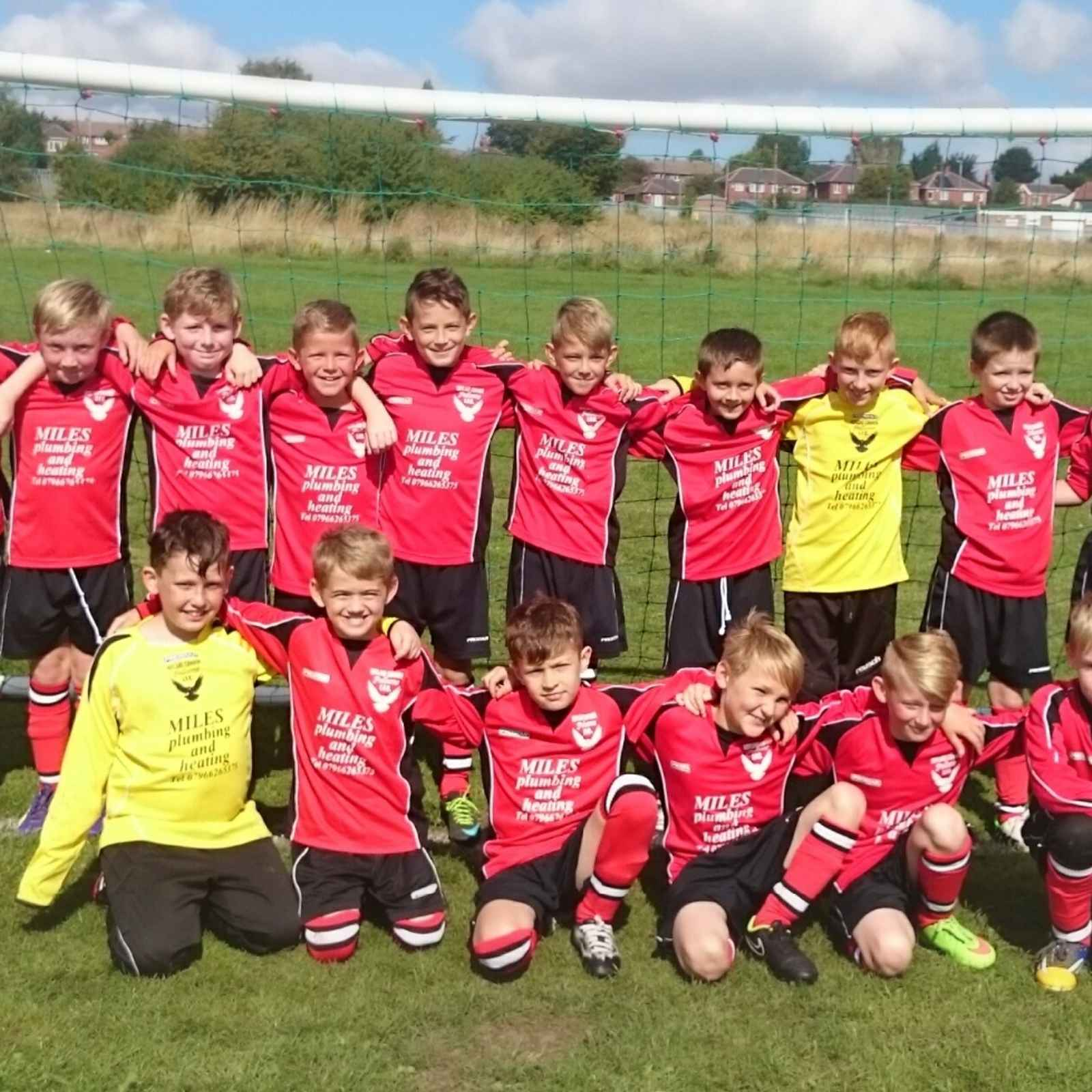 U10's Next Training Session - Elmhirst Playing Fields  - Thurs 26th May  - 6:00pm