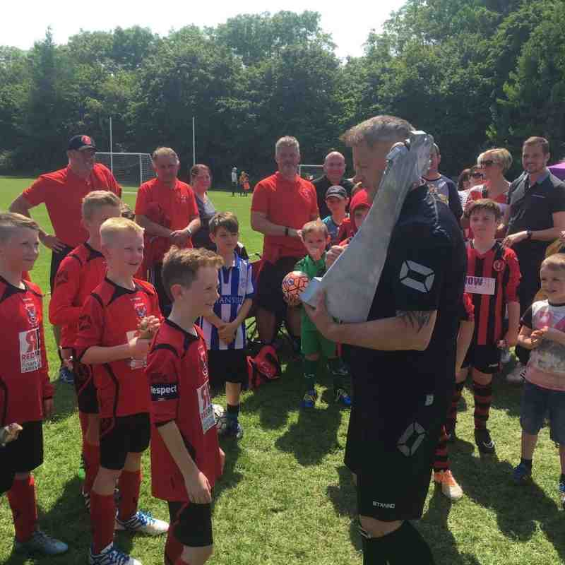 Tinsley Tournament 2016 U9's Red