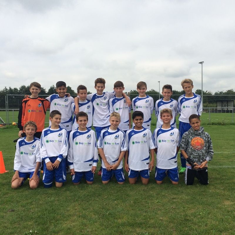 U13 Lightning Win Surrey Primary League