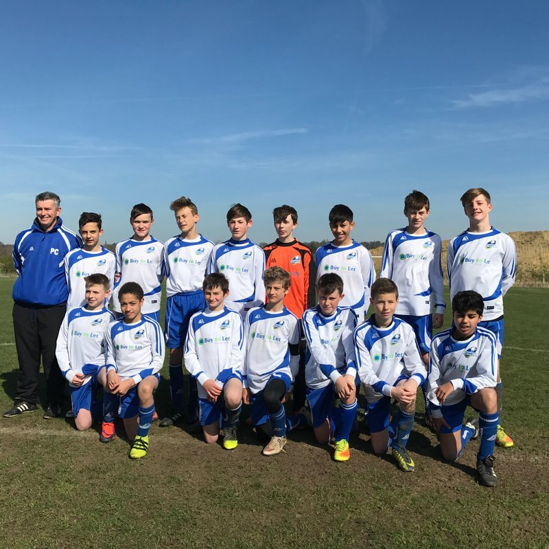 U13 Lightning Finish SPL Season Unbeaten