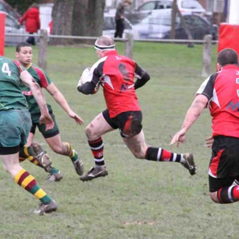 Walsall 37-14 Old Laurentians 05.02.2011