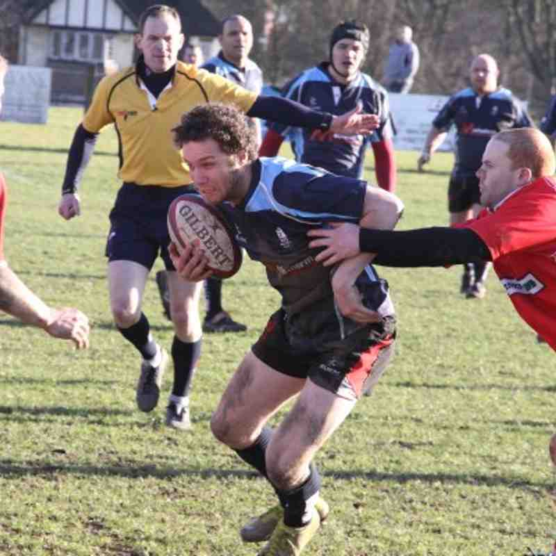 Walsall 52-18 Whitchurch 12.02.2011