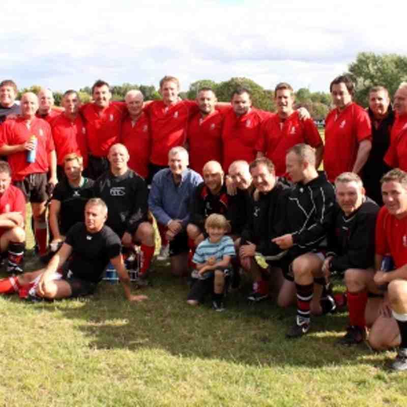BHF Charity game: Walsall vets v Bloxwich XV 28.08.2011