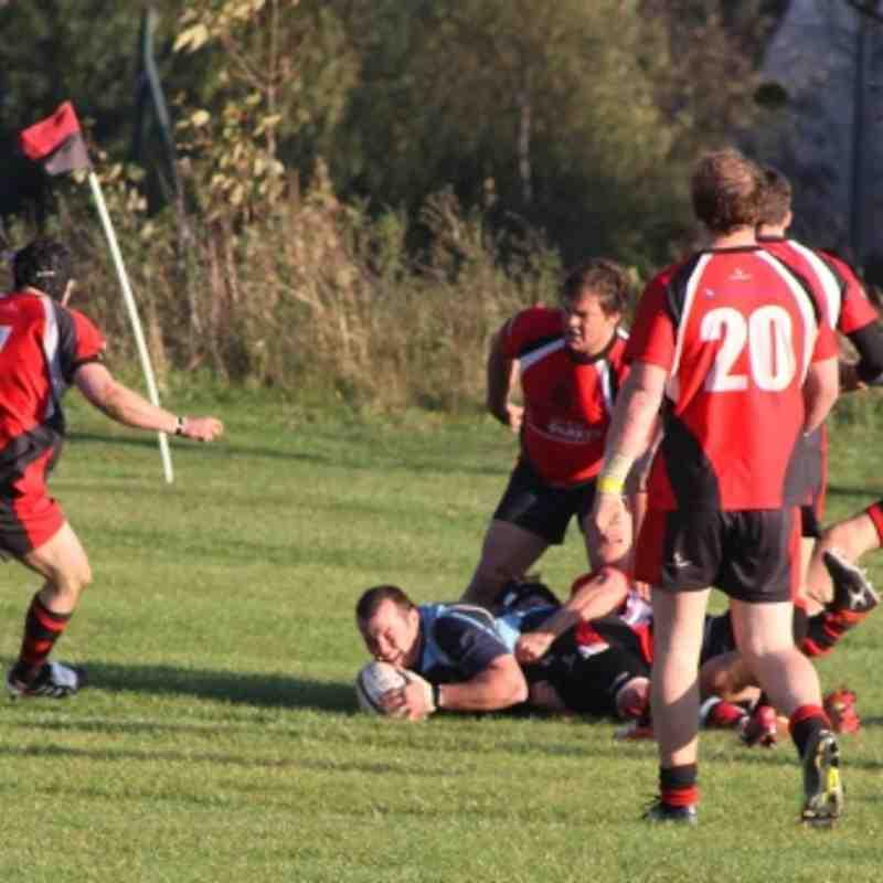 Walsall 41-3 Ludlow 22.10.2011