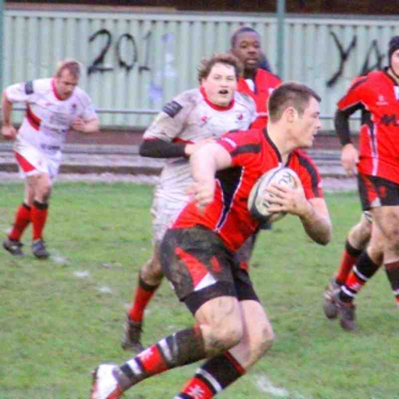 Walsall 24-22 Bromsgrove 2s  26.11.2011