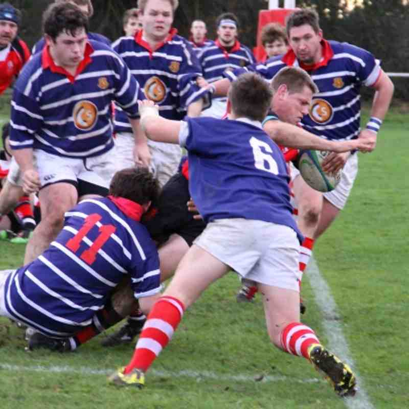 Whitchurch 12-23 Walsall 03.12.2011