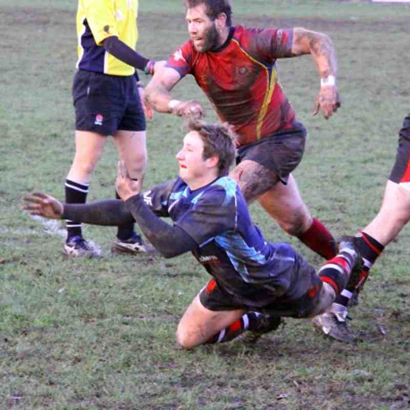 Walsall 13-29 Bournville 10.10.2011