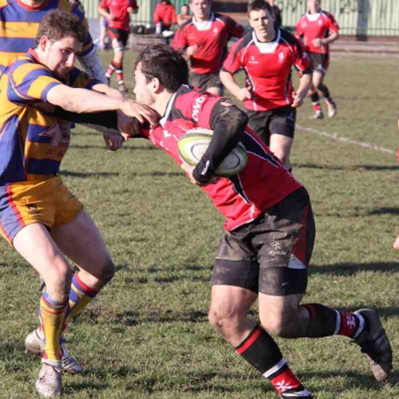 Walsall 31-12 Old Halesonians 25.02.2012
