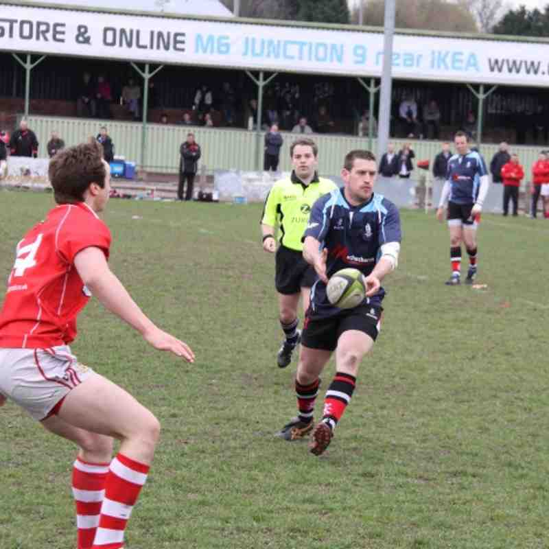 Walsall 32-33 Whitchurch 31.03.2012