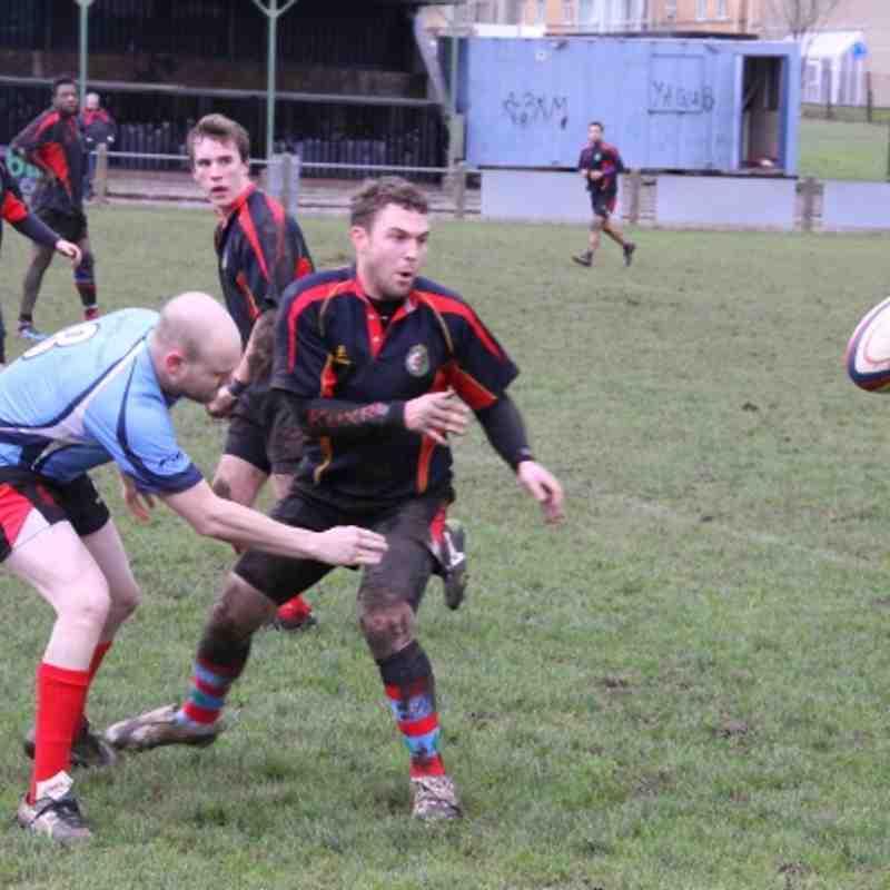 Walsall XV v QMGS Old Boys 26.12.12