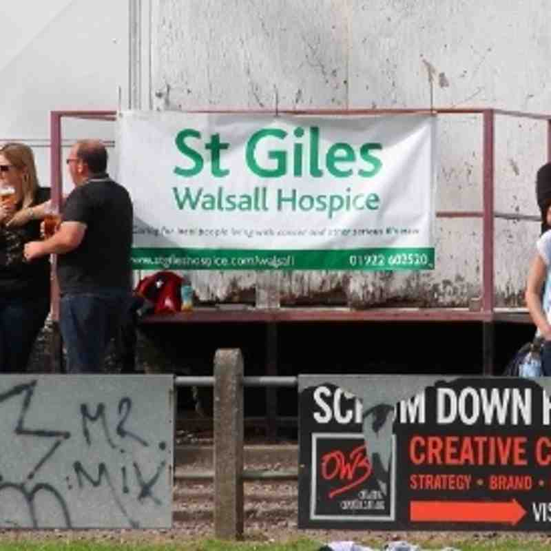 Walsall XV v Bloxwich XV Charity match 01.09.13