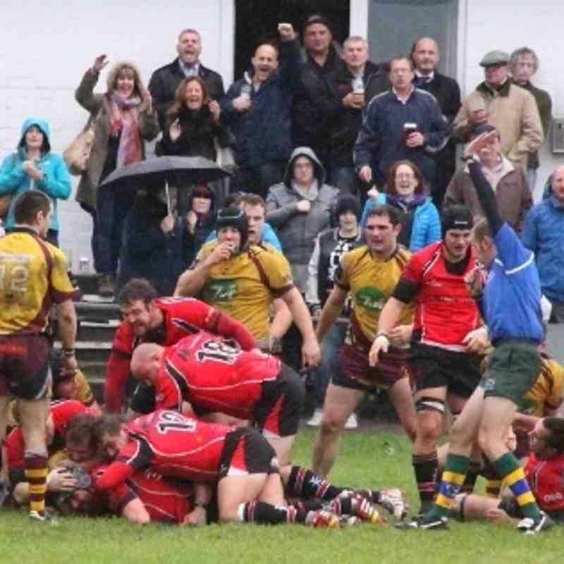 Walsall 22-11 Malvern 12.10.2013