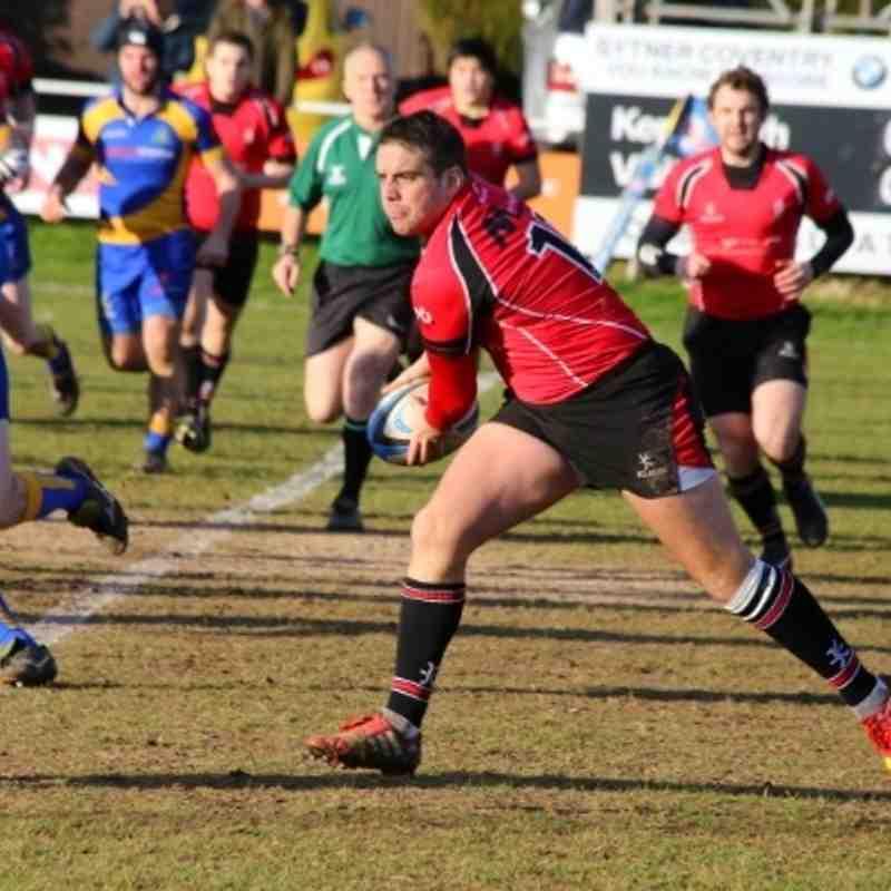 Kenilworth 20-41 Walsall 11.01.2014