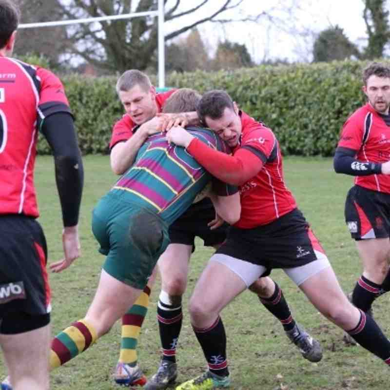 Old Laurentians 32-19 Walsall 15.02.14