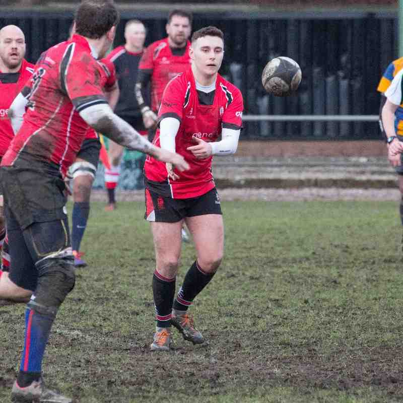 Walsall 2s v Old Halesowians 2s   14.02.15