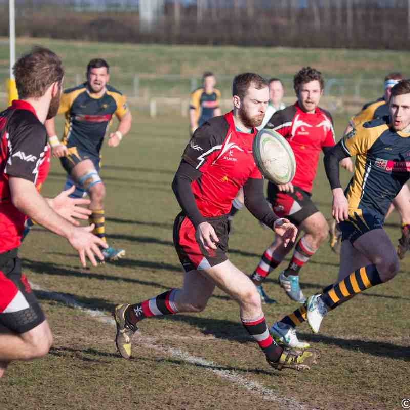Worcester Wanderers 38-19 Walsall 07.03.15