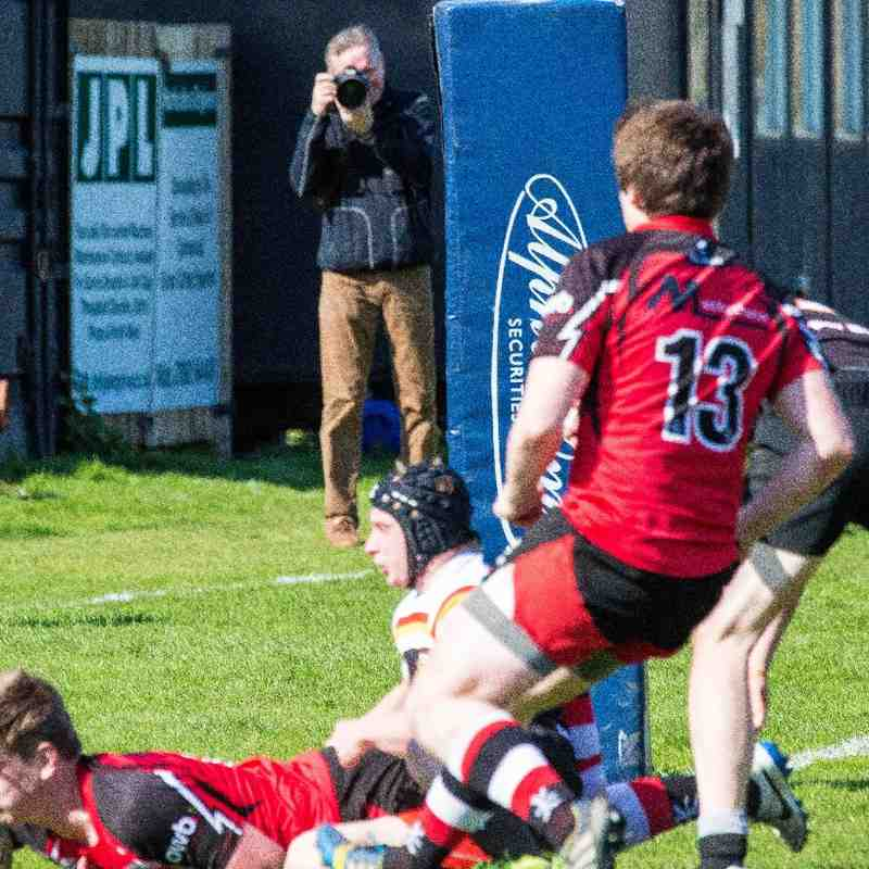 Crewe & Nantwich 33-22 Walsall 18.04.15