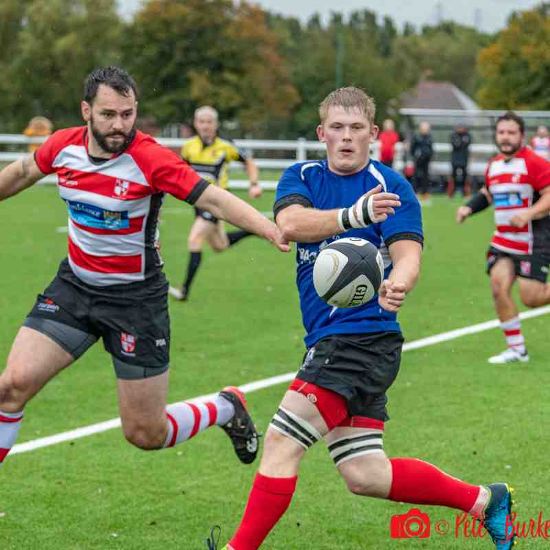 Walsall 12-17 Earlesdon (Int Cup) 22.09.18