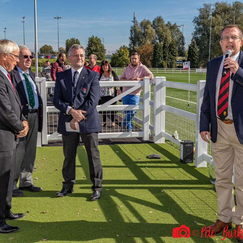 AGP Official opening in Vets' v Wednesbury 29.09.18