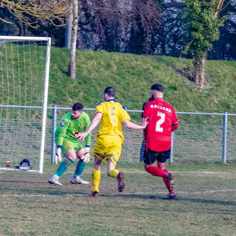 Worcester Raiders 1-1 Darlaston Town (1874) 23.02.19