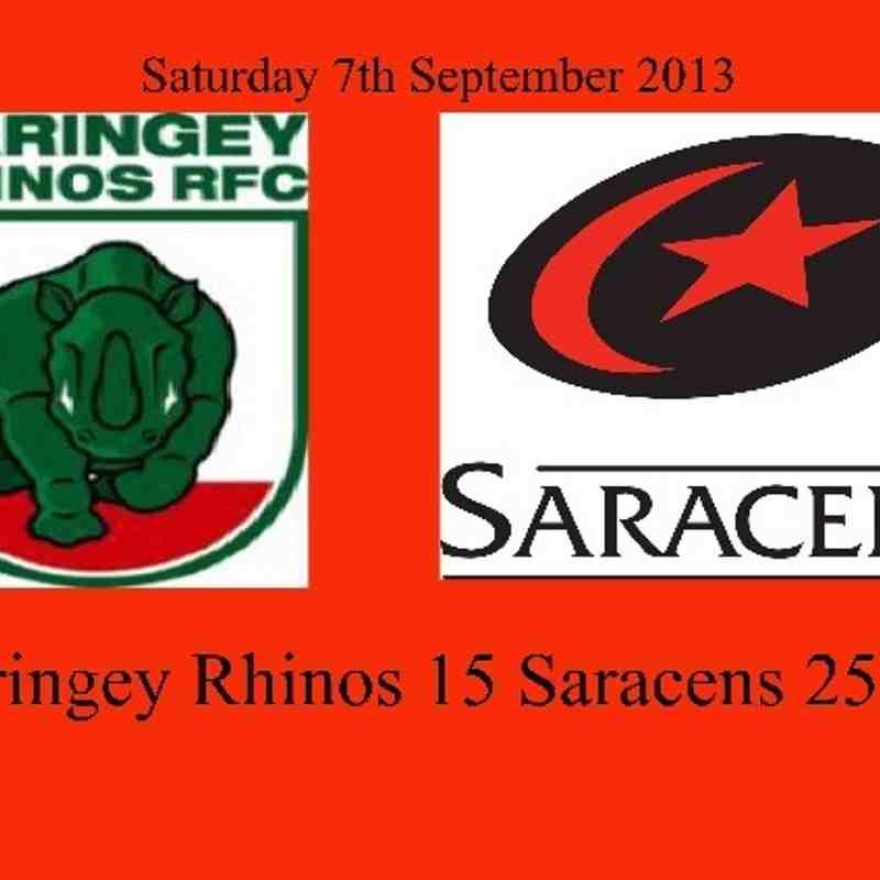 Saracens Seniors at Haringey Rhinos