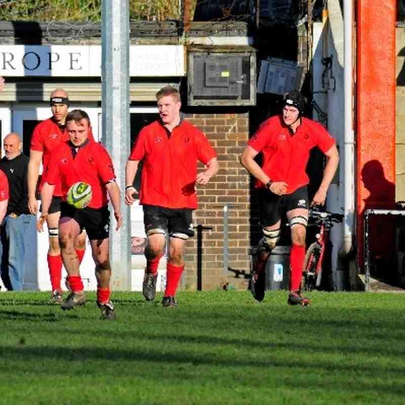Saracens v Feltham Saturday 1st March