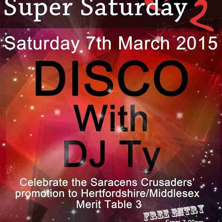 Another Super Saturday
