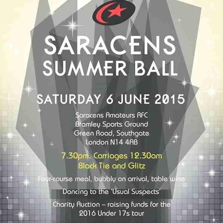 Saracens ARFC Summer Ball
