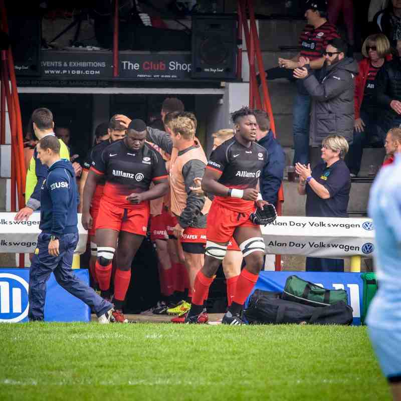 October 3rd - Saracens v Worcester     photos by Phillip Hutchinson