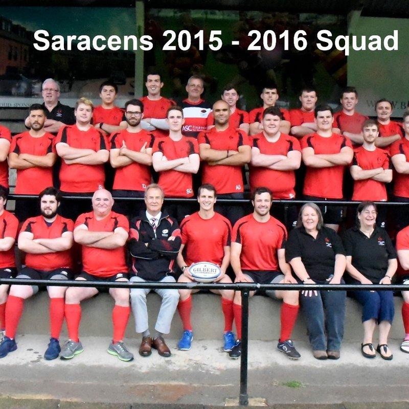 Saracens Amateurs 14 - 11 U.C.S. Old Boys