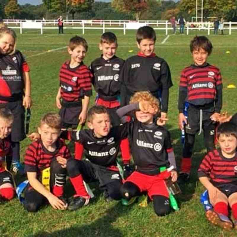 Under 8's at Brentwood