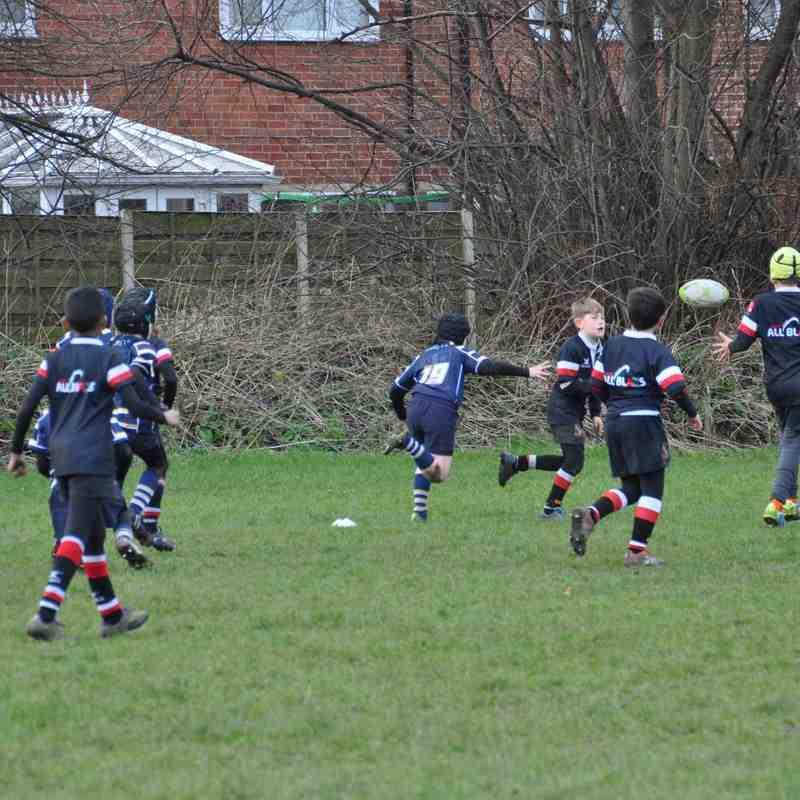 Saints U10s V Altrincham Kersal U10s