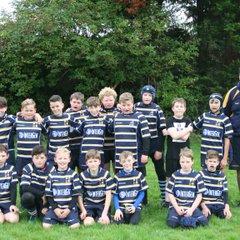 Saints U12 v Oswestry U12