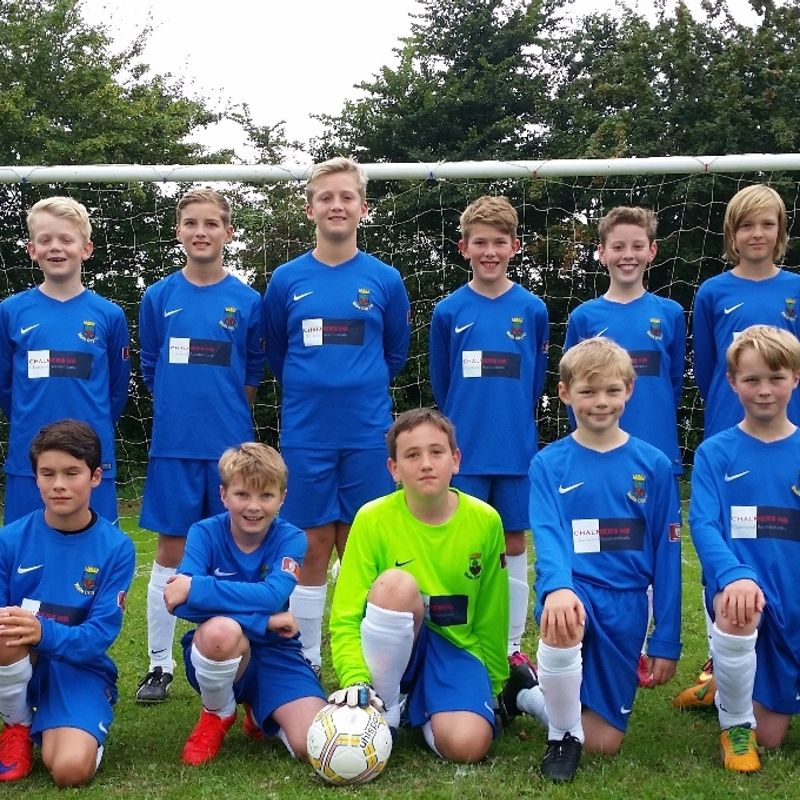 Under 12's beat Purnell Sports Youth Colts 0 - 10