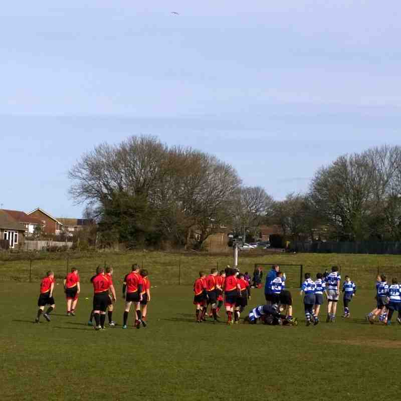 Seaford Hill v Hastings friendly 10th April