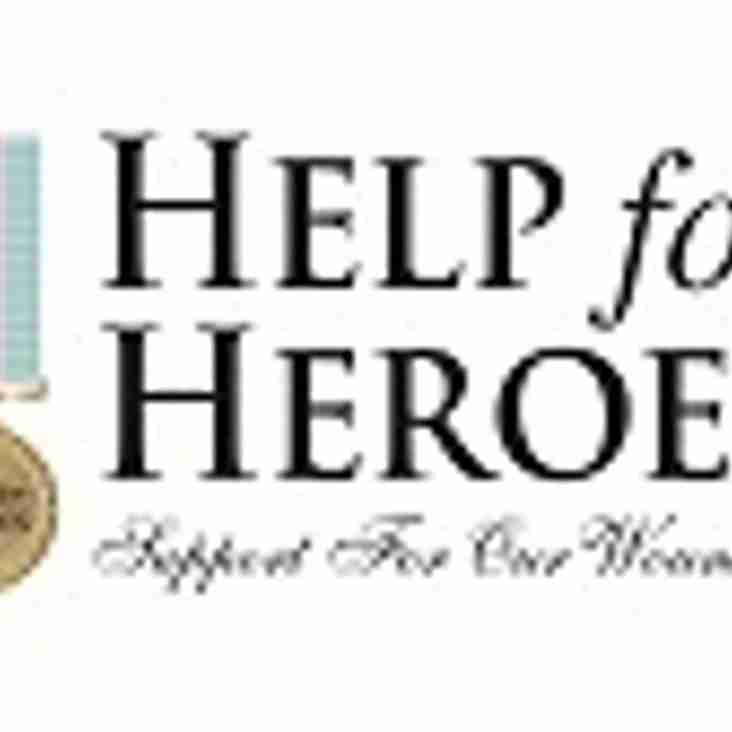 Support John Baigan & Help for Heroes