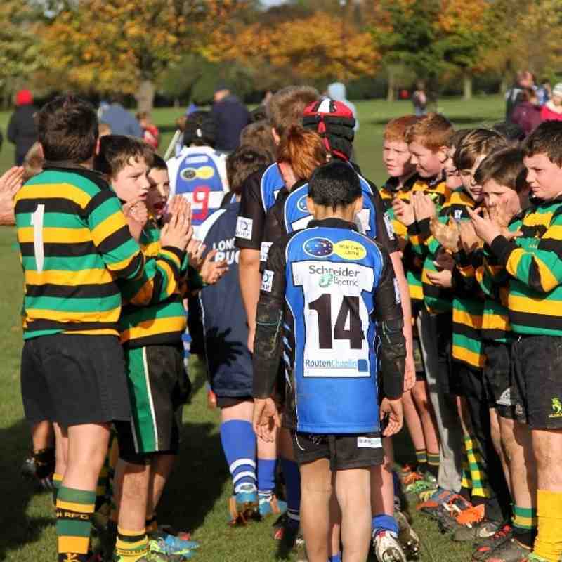 Tigers Vs Mellish 27/10/13