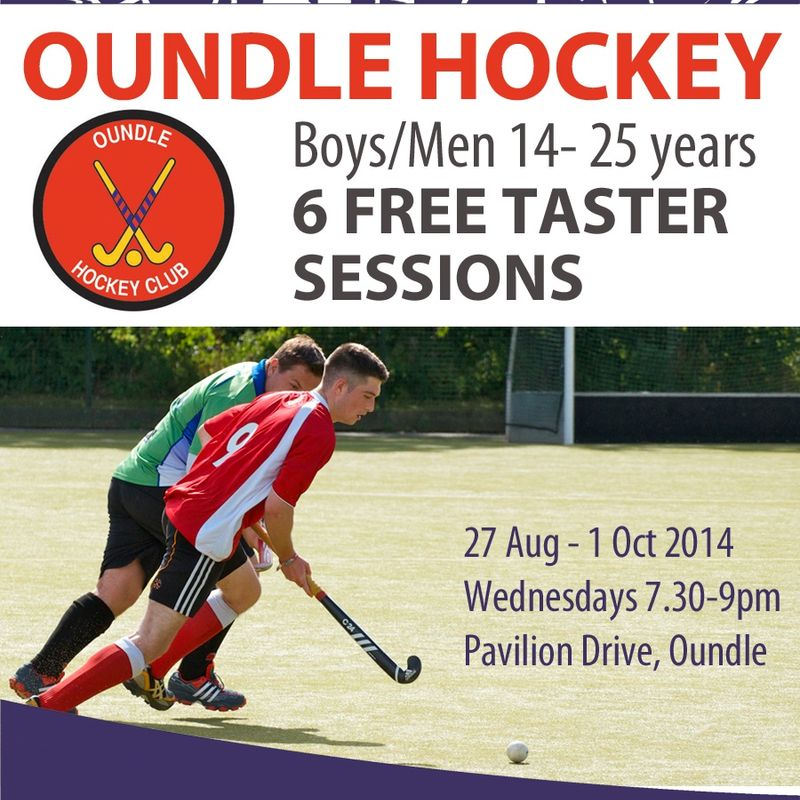 Boys / Mens Taster Session U25's
