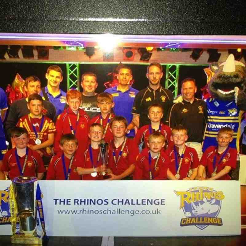 Rhinos champions at Skegness under 11's