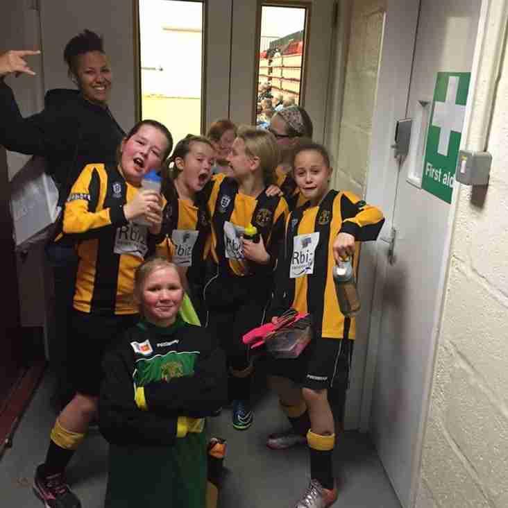 U10 girls take home the Futsal Trophy