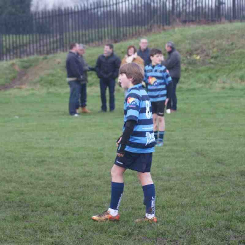 U13 Friendly away vs Trafford RUFC 19-01-14