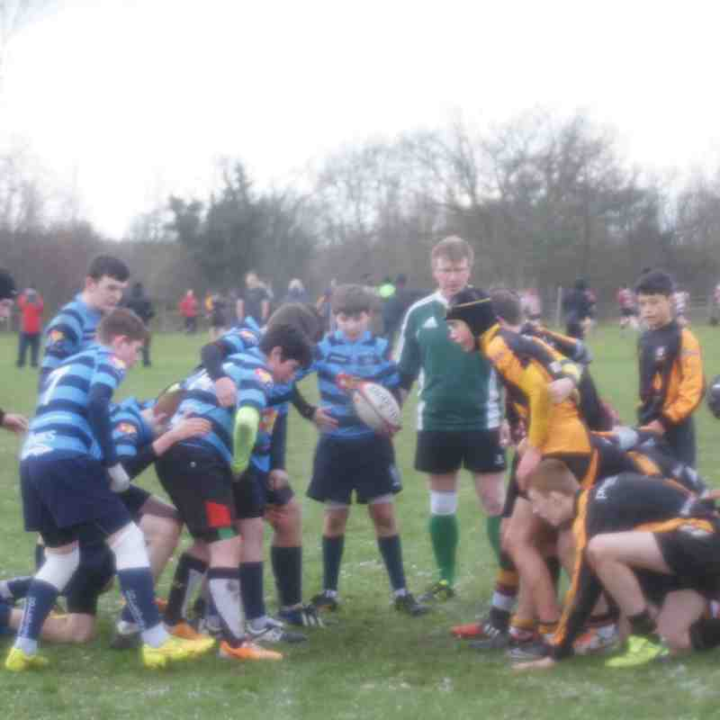 U14 Friendly away vs Caldy RUFC 18-01-15