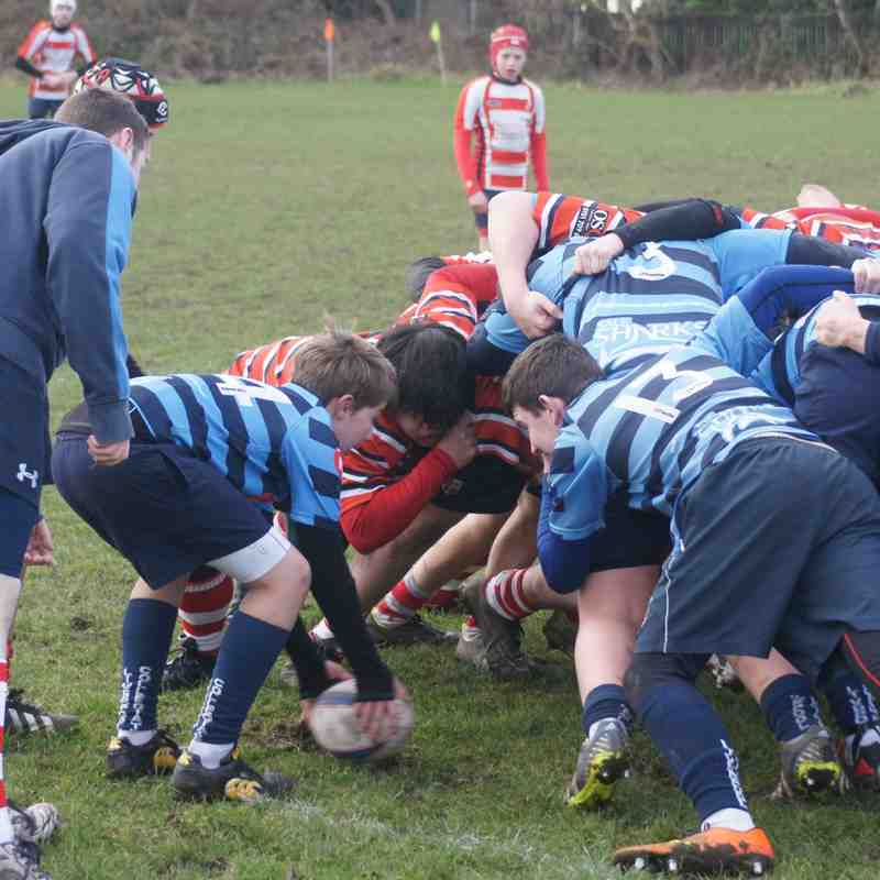 U14 Friendly away vs Sefton RUFC 01-02-15