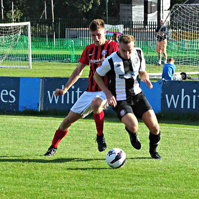 FA Vase 2nd Qualifying round Heanor Town FC  2 - 1 Birstall United FC